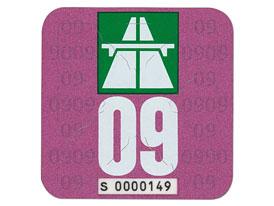 Švýcarská silniční známka na rok 2009, ceny se nemění