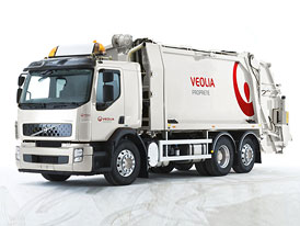 Volvo: Hybridní popelářské vozy pro Anglii a Francii
