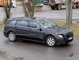 Spy Photos: Mercedes-Benz R - Nové fotografie