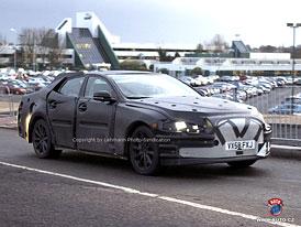 Spy Photos: Nový Jaguar XJ jako čtyřdveřové kupé s hliníkovou karoserií