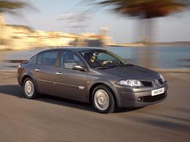 Renault Mégane sedan: V akci s klimatizací a 6 airbagy pod 300 tisíc Kč