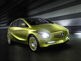 Mercedes-Benz BlueZero: Zelená trojice se představí v Detroitu
