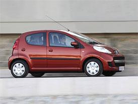 Peugeot 107 pro rok 2009: Ceny na českém trhu