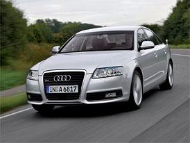 Český trh v listopadu 2008: Suverénní Audi A6 vede ve vyšší střední třídě