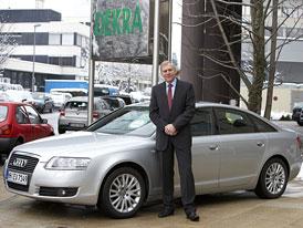 Dekra: Nejméně vážných závad na německých STK má Audi A6