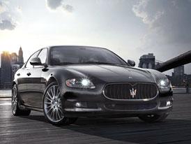 Maserati Quattroporte Sport GTS: Více výkonu pro sportovní limuzínu
