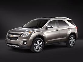 Chevrolet Equinox 2010: Nová generace s úspornějšími motory