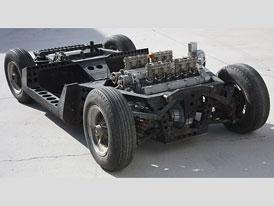 Lamborghini Miura: Výstavní podvozek z autosalonu v Turíně nalezen po třiceti letech