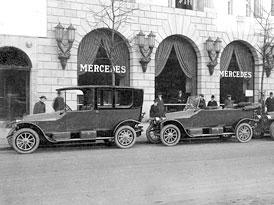 Mercedes-Benz: Firemní prodejny oslaví 100 let existence