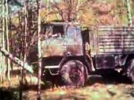 Video: Tatra 815 vs. ruské břízky