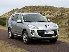 Peugeot 4007: Nové ceny na českém trhu začínají na 679.900,-Kč
