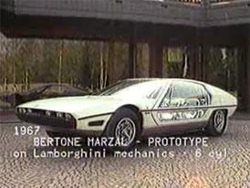 Video: Lamborghini Marzal – Koncept čtyřmístného GT
