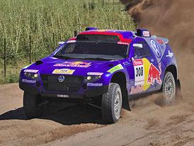 Rallye Dakar 2009 (2. etapa): české posádky čelí problémům (fotogalerie)