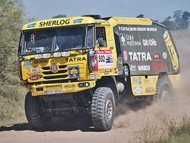 Rallye Dakar 2009 (3. etapa): Macháček nejlepší mezi čtyřkolkami