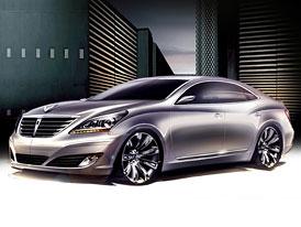 Hyundai Equus: Nové skici třetí generace velké limuzíny