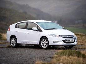 Honda Insight: Nové fotografie sériového provedení