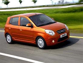 Český trh v prosinci 2008: Kia Picanto stříbrná mezi minivozy, celkovým vítězem Chevrolet Spark