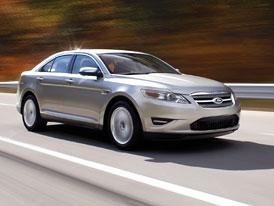 Ford Taurus 2010: Facelift amerického sedanu má odlákat zákazníky Hondy a Toyoty