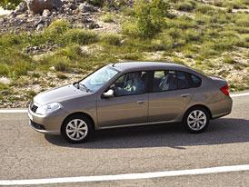 Český trh v prosinci 2008: Thalia v třídě malých vozů stříbrná o jediný kus, Sandero a Yaris mimo Top 10