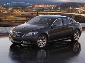 Chrysler 200C EV Concept: Sedan s hybridním systémem pohonu