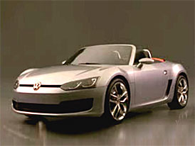 Video: Volkswagen Concept BlueSport – Roadster staticky i v pohybu