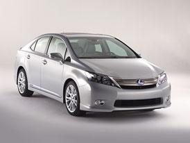 Lexus HS 250h: �ty�v�lcov� hybridn� sedan jen pro USA a Japonsko