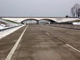 Dálniční síť České republiky se v roce 2009 rozšíří o 59 km