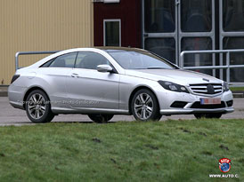 Spy Photos: Mercedes-Benz E Coupé - nové fotografie téměř bez maskování