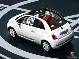 Spy Photos: Fiat 500 Cabrio - První fotografie