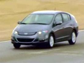 Video:  Honda Insight – Sériové provedení v akci