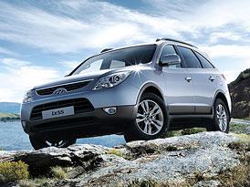 Český trh velkých SUV v roce 2009: Hyundai ix55 je zdatným soupeřem velkých BMW a Mercedesů