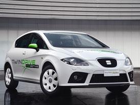 SEAT León Twin Drive Ecomotive: Sériová výroba elektromobilu se plánuje od roku 2014