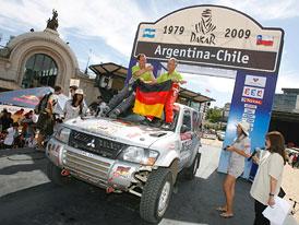 Rallye Dakar 2009: ohlédnutí za dvěma týdny těžkého boje českých posádek (+ fotogalerie)