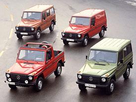 Mercedes-Benz třídy G: Geländewagen je na trhu 30 let