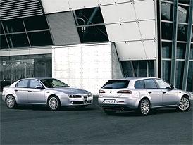 Alfa Romeo 159: V Ženevě se představí s novým motorem 1.8 DI TJET (147 kW)
