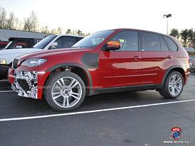Spy Photos: BMW X5 M p��jde v l�t� s p�epl�ovan�m osmiv�lcem (nov� foto)