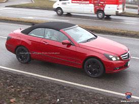 Spy Photos: Mercedes-Benz E Cabrio - Dlouhé plátno