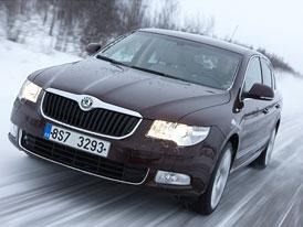 Škoda Superb 4x4: S Haldexem 4. generace za polárním kruhem