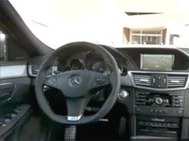 Video: Mercedes-Benz třídy E – Pohled do nového interiéru
