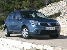 Nov� motory pro zn�m� modely Dacia: 1,2 16V (55 kW), 1,4 LPG (55 kW), 1,6 LPG (66 kW) a 1,6 E85 (66 kW)