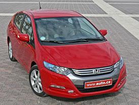 Honda Insight: První jízdní dojmy