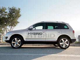 Volkswagen Touareg V6 TSI Hybrid: Budoucnost z Wolfsburgu