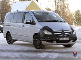 Spy Photos: Mercedes-Benz Viano - nová krev míří do žil (nové foto)