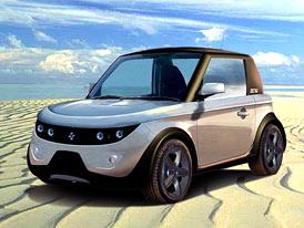 Tazzari Zero: Městský elektromobil z Itálie