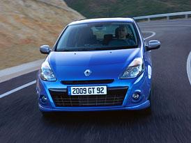 Renault Clio: Nový Megane-design a sportovní verze GT
