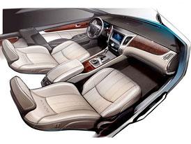 Hyundai Equus: Nová skica interiéru