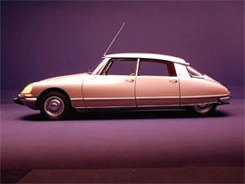 Velcí designéři zvolili nejkrásnějším automobilem všech dob Citroën DS