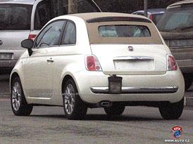 Spy Photos: Fiat 500 Cabrio �pln� bez maskov�n�