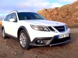Video: Saab 9-3X – Novinka schopná jízdy i mimo asfalt