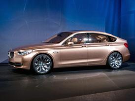 BMW Concept 5 Series Gran Turismo (+ video)